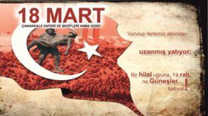 18 Mart Çanakkale Zaferi ve Şehitleri Anma günü ile ilgili kısa ve özlü sözler