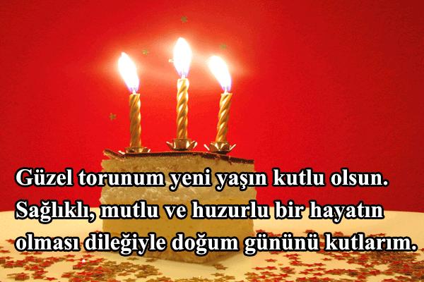Toruna doğum günü mesajları ve sözleri