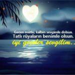 Romantik İyi Geceler Mesajları