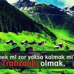 Trabzon ile ilgili sözler