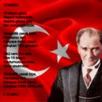 19 Mayıs Şiirleri! 19 Mayıs Atatürk'ü Anma Gençlik ve  Spor Bayramı