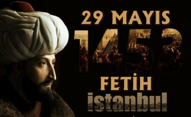 İstanbul'un Fethi Kutlama Mesaj Kartları
