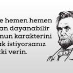 Abraham Lincoln Sözler ve Özlü Mesajları