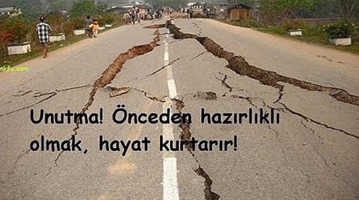 Deprem Sözleri! Deprem Geçmiş Olsun Mesajları