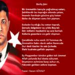 15 Temmuz Demokrasi Bayramı Şiirleri