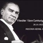 29 Ekim Cumhuriyet Bayramı Mesajları ve Sözleri
