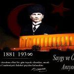 10 Kasım Resimli Anma Mesajları ve Atatürk'ü Anma Kartları
